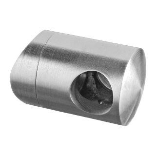 Querstabhalter für Stoßbefestigung Ø48,3, Ø12 mm