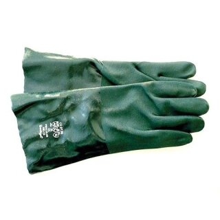 Säureschutzhandschuhe PVC 350mm
