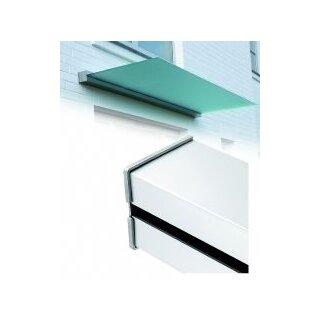 Linear Set 3m eckig Ohne Glas. Aus-ladung max 1m,