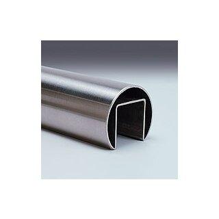 VA-Glasleistenrohr Ø42,4 x 1,5 x 3000 mm Nut 24 x 24 mm