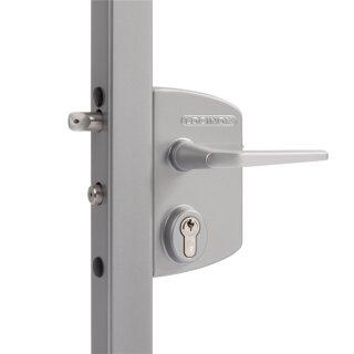 Industrieschloss // 4040 (40-60 mm Profile) // Silber