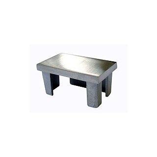 VA-Endkappe 60 x 40 x 2 mm hohl