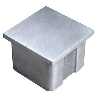 VA-Endkappe 40 x 40 x 2 mm hohl