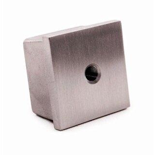 VA-Endkappe 30 x 30 x 2 mm M8 hohl