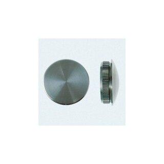 VA-Endkappe oval Ø42,4 x 3,0 mm massiv