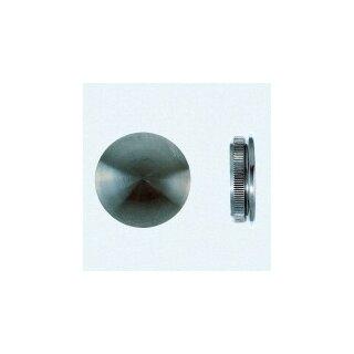 VA-Endkappe flach Ø33,7 x 2 mm massiv