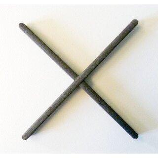 Zierkreuz 110 x 110 mm, 12 x 5 mm glatt