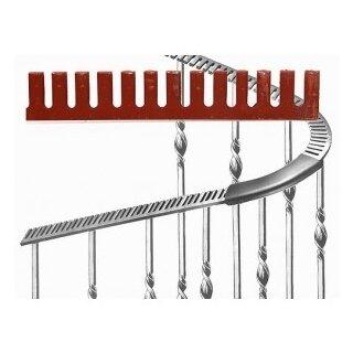 Krümmeisen 40 x 8 x 1500 mm, Stahl roh