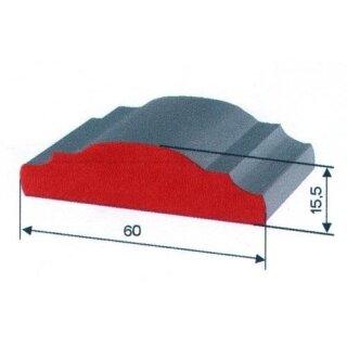 Handlauf 60 x 16 x 3000 mm warm gewalzt