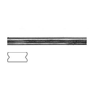 Flachmaterial 16 x 8 x 3000 mm 2x gerillt