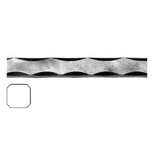 Vierkantmaterial 16 x 16 x 3000 mm Kantengehämmert