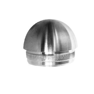 VA-Endkappe rund Ø42,4 x 2 mm hohl