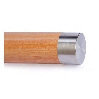 VA-Endkappe flach für Holzhandläufe Ø45 mm