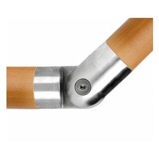 VA-Gelenkstück für Holzhandlauf Ø45 mm