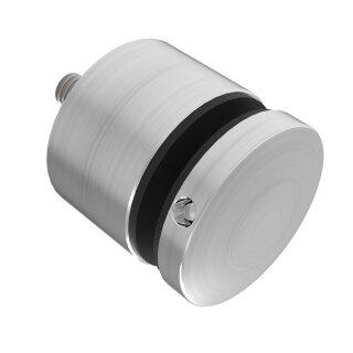 VA-Punkthalter Ø50 mm, A=flach, M10, Glas 8 - 18 mm, h=40 mm