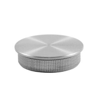 VA-Endkappe flach Ø42,4 x 2 mm hohl