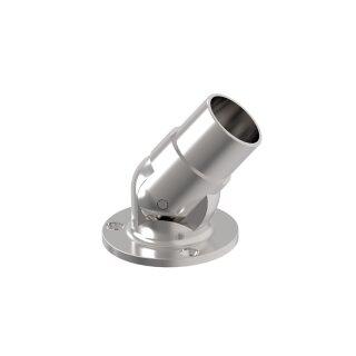 VA-Wandanker mit Gelenk Ø42,4 x 2 mm