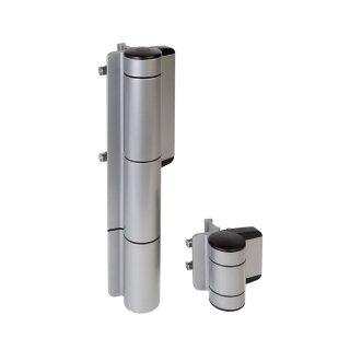Hydraulischer Torschließer und 180° Torband in einem