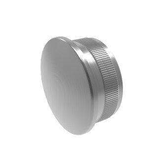 VA-Endkappe oval Ø48,3 x 2 mm hohl
