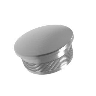 VA-Endkappe oval Ø33,7 x 2 mm hohl